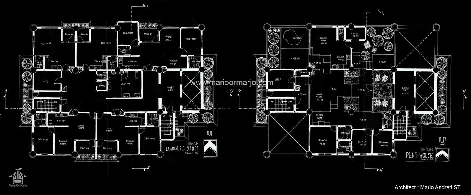 Green Apartment Jakarta Indonesia Mario Or Marjo MoM Architect