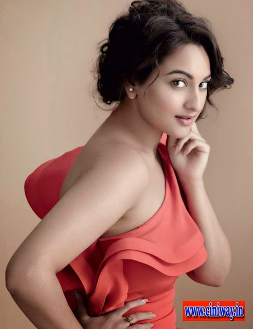 Sonakshi Sinha Photoshoot for Marie Claire Magazine July 2013