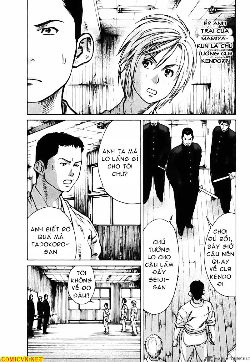 Karate Shoukoushi Kohinata Minoru chap 12 Trang 4
