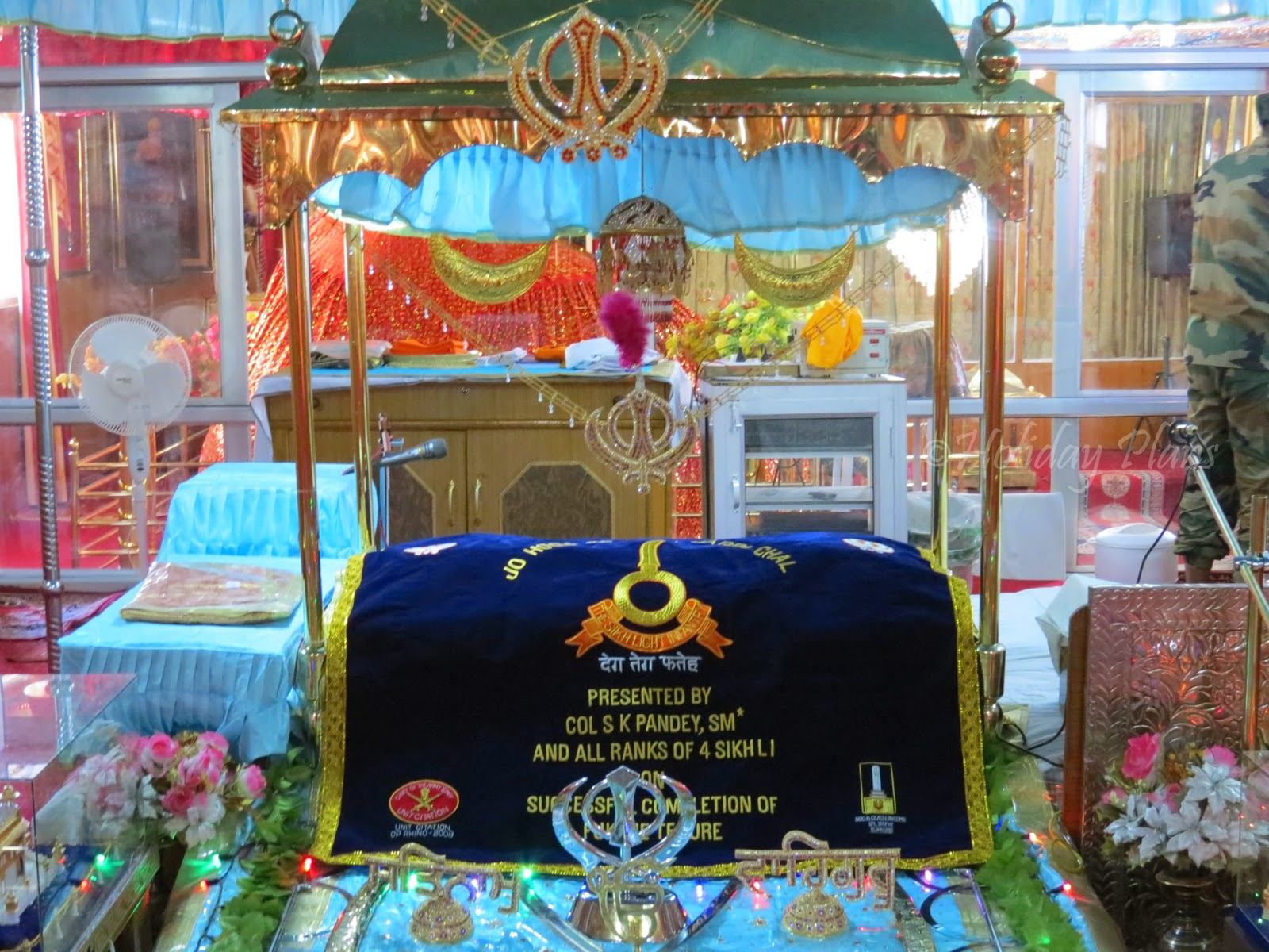 Inside Gurudwara Pathar Sahib-1