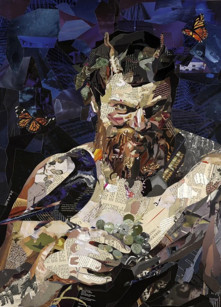 Patrick Bremer. Collage. Doctor Ojiplático