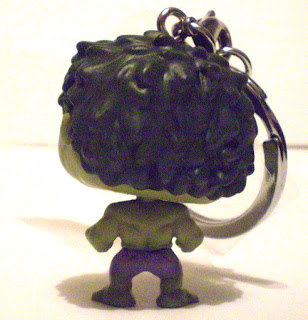 Back of Hulk Pocket Pop Keychain