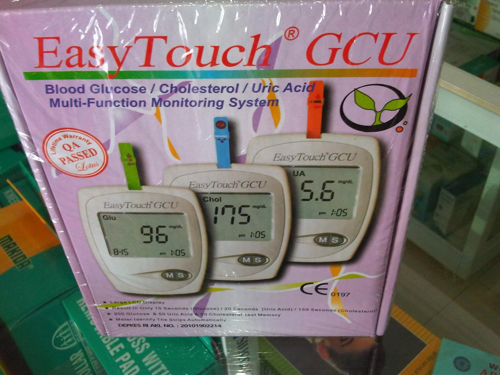Alat Kesehatan Murah Test Darah Easy Touch Gula Asam Urat Cholesterol 3in1 Gcu Harga Rp 380000 Merupakan Satu Yang Bisa Untuk Mengukur Kadar Dan Kolesterol Sekaligus 3 In 1