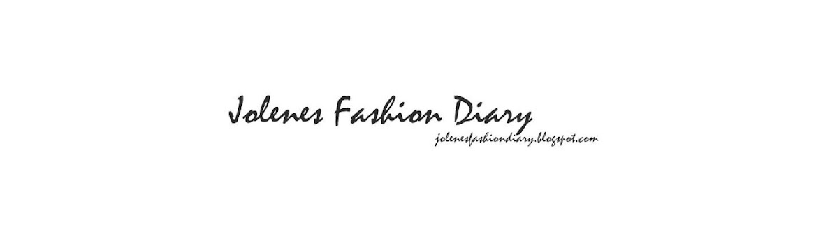 JOLENES FASHION DIARY