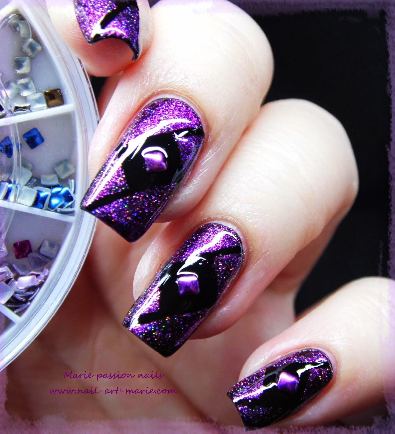 Nail Art Studs Géométrique4