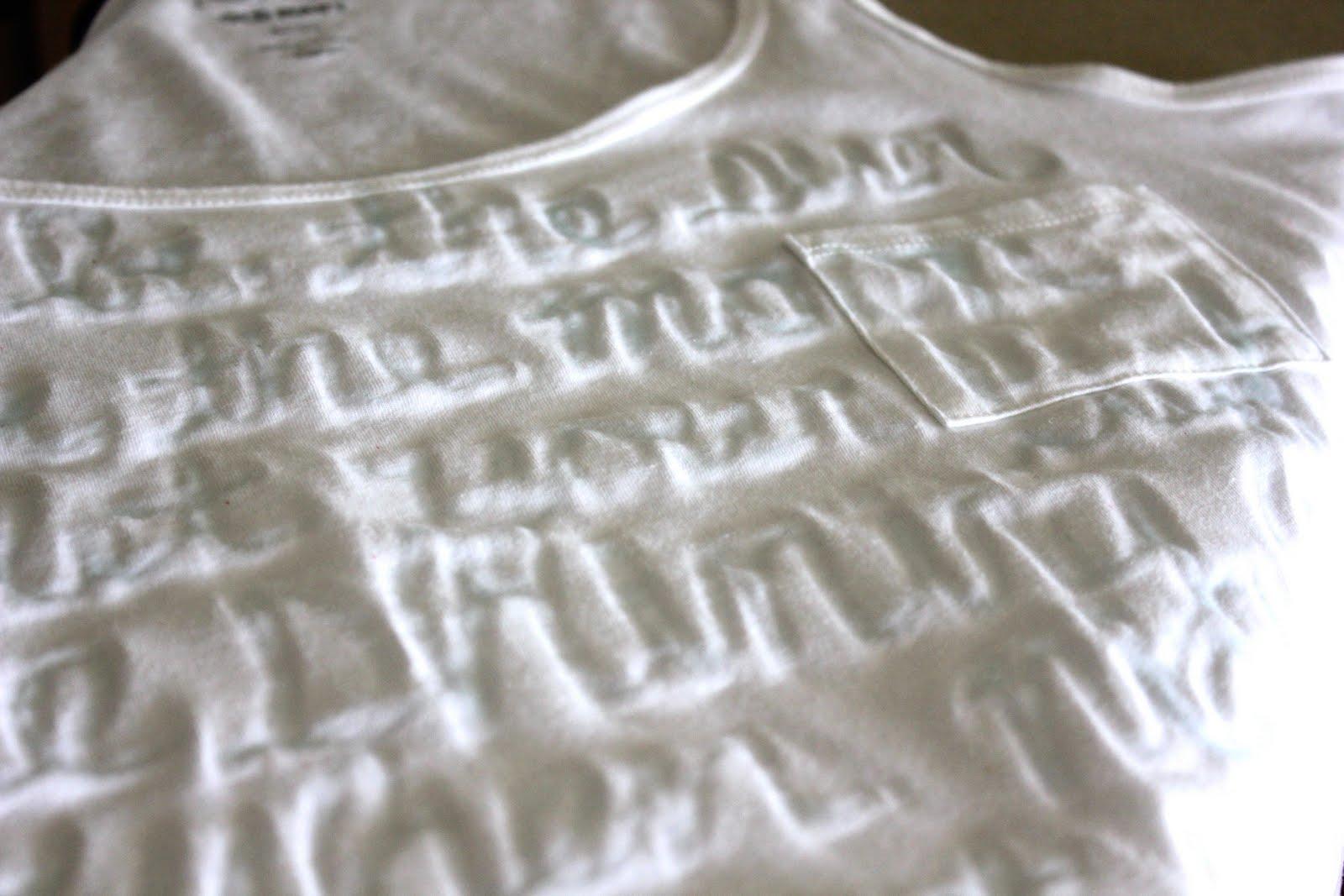 22 brilliantly creative t shirt designs jump in shirt - Watermark Tee Tutorial