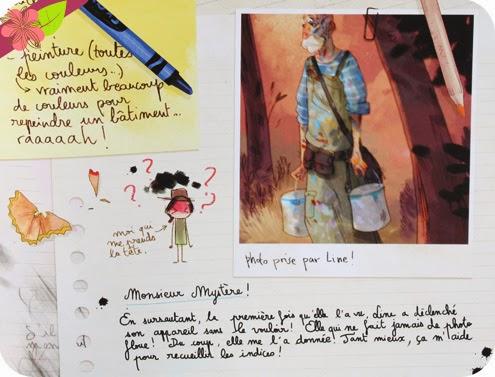 Les carnets de Cerise - Tome 1 : Le zoo pétrifié, de Joris Chamblain et Aurélie Neyret