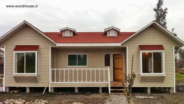 Arquitectura de casas modelos de casas prefabricadas en - Casas de madera bonitas ...