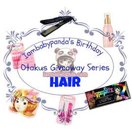 Iambabypanda's Birthday Otakus Giveaway Series: Hair