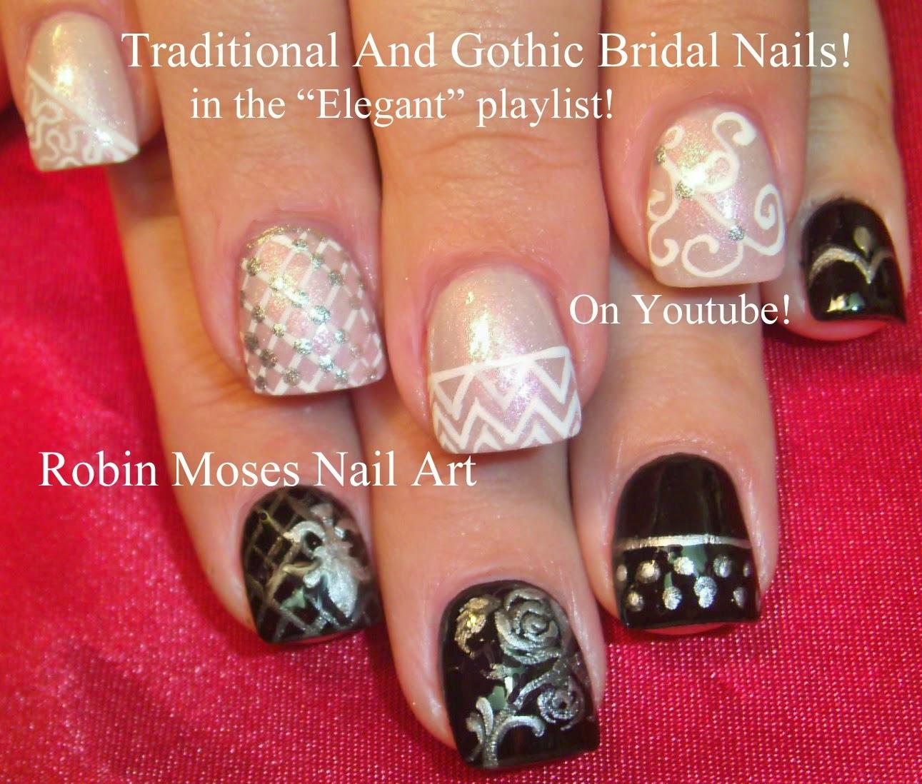 """Thanksgiving Nail Art Tutorials: Robin Moses Nail Art: """"Fall Nail Art"""" """"elegant Fall Nails"""