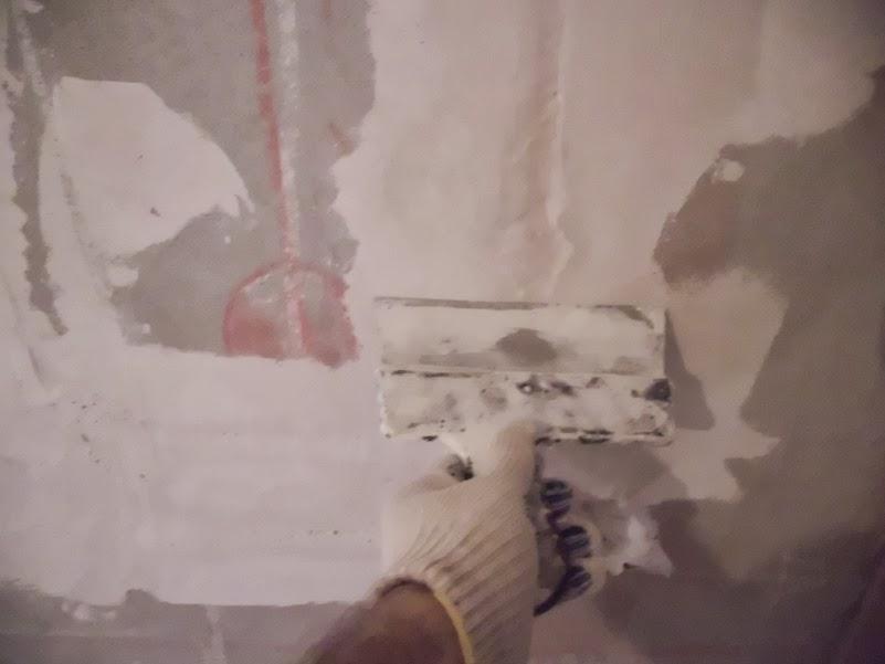 Ремонт своими руками шпаклюем стены 89