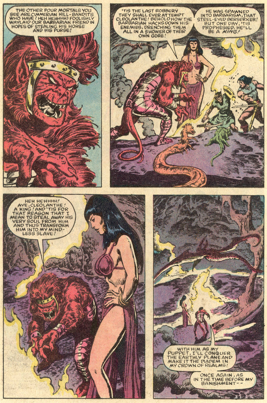 Conan the Barbarian (1970) Issue #152 #164 - English 3