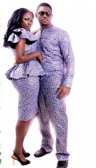 Simple Ankara Styles For Couples - DeZango Fashion Zone