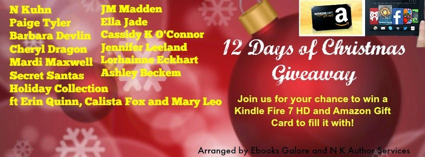 this giveaway starts 1212 win a kindle fire hd 7 and 100 gift card or a 25 gift card as well as books daily httpnkuhnebooksblogspotcom on the - 12 Redneck Days Of Christmas