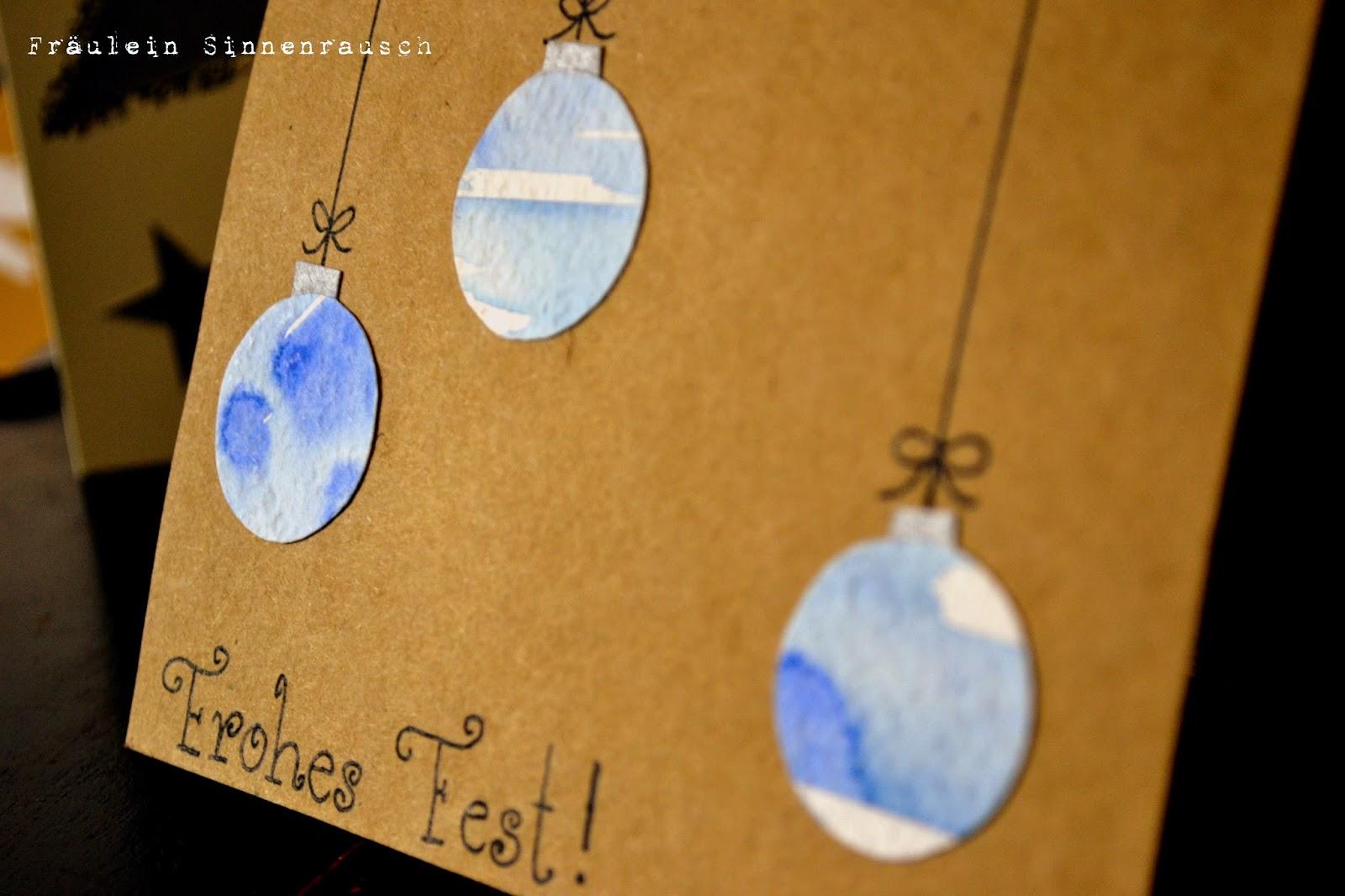 Fr ulein sinnenrausch sei kreativ ideen f r for Weihnachtskarten schreiben ideen