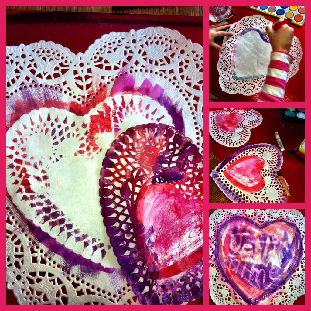 Beau projet de bricolage de st valentin sur mon blogue - Pinterest st valentin bricolage ...