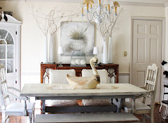 dining room makeover with Annie Sloan paint
