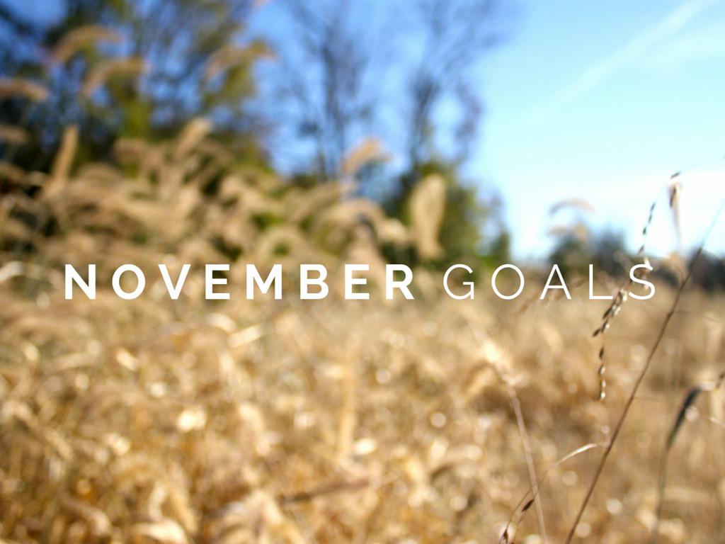 November, Goals