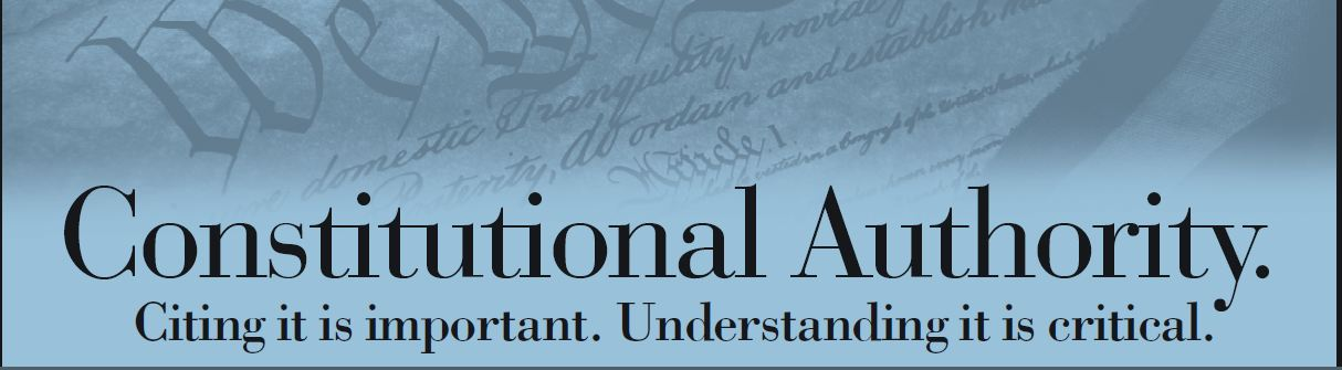 The Humble Libertarian The Constitution It S Critical To