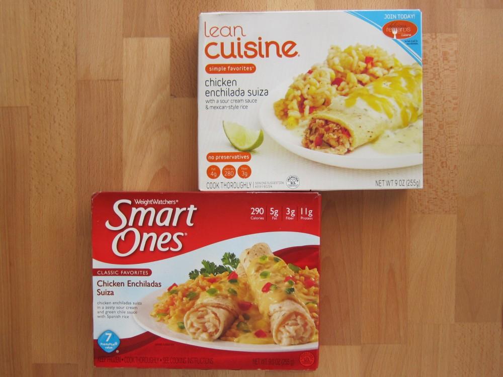 Frozen friday lean cuisine vs smart ones chicken for Lean cuisine vs fast food