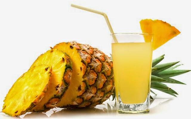 abacaxi, suco de abacaxi para emagrecer
