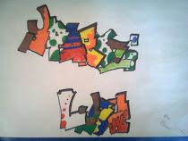 Graffiti από μια γλυκιά κοπελίτσα που τη λένε Βασιλική