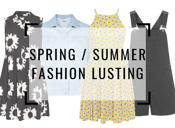 Spring Summer Fashion Clothing Wish List