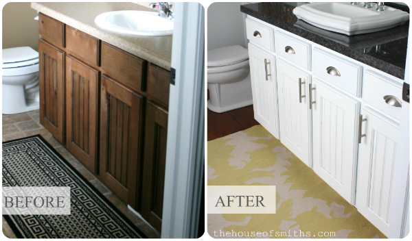 Vintage Bathroom Vanity Tutorial