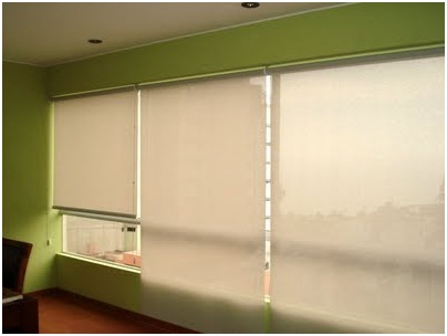 MODERN CURTAINS DESIGN ROLLER SHADES OR ROLLER BLINDS