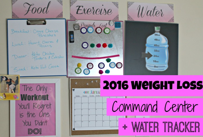 2016 weight loss command center water tracker first time mom and