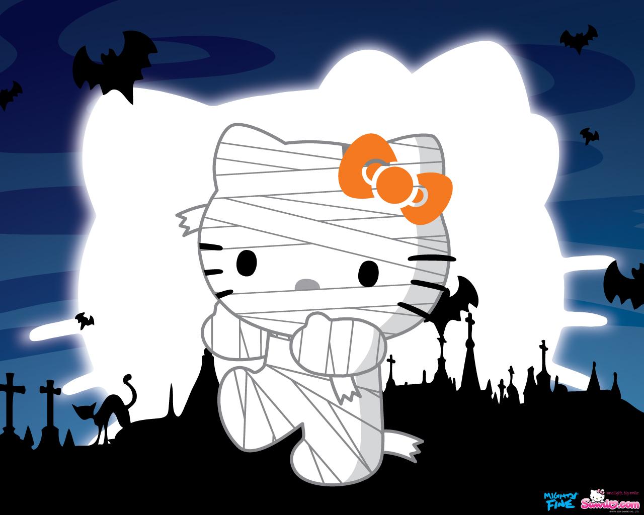 Hello kitty loft zombie hello kitty halloween wallpaper - Hello kitty halloween ...