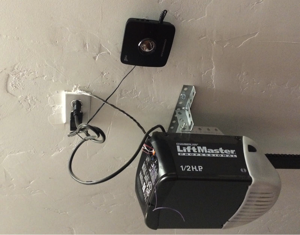although these are installed on a liftmaster garage door opener it is a universal product that can be used on most other brands of garage door openers