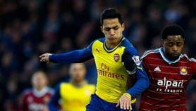 Video Gol West Ham United  vs Arsenal 1-2