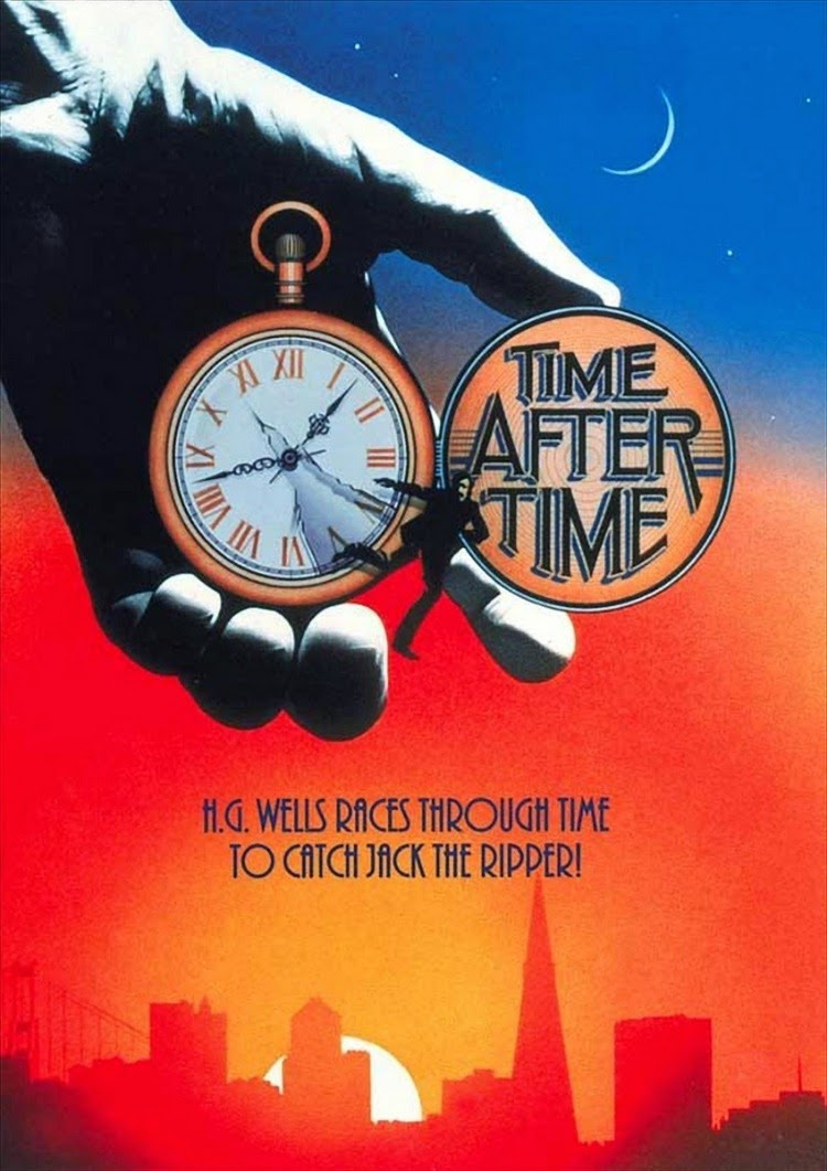 A Vintage Nerd, Classic Film Blog, Vintage Blog, Time Traveling Movies, Time After Time