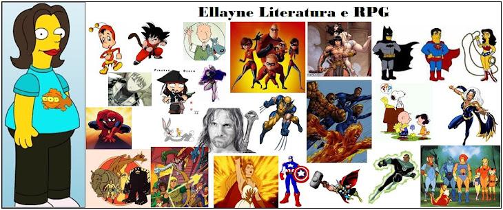 Ellayne, Literatura e RPG