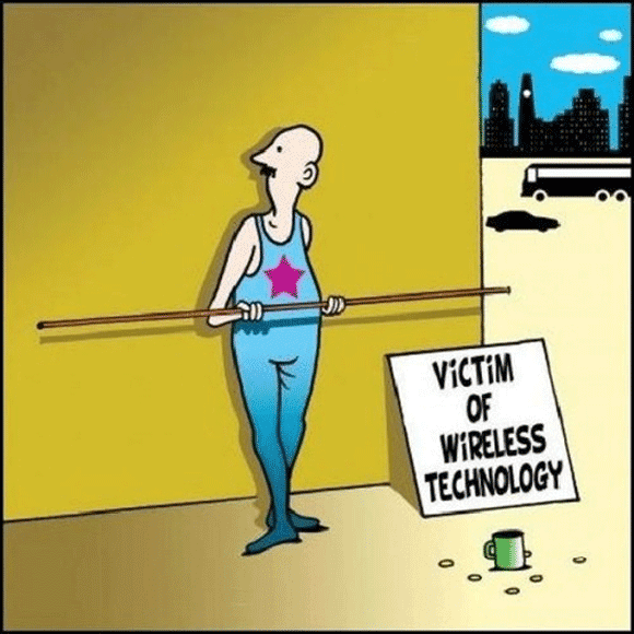Victim Of Wireless Technology