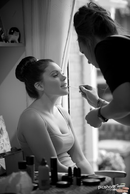 bridal make-up plymouth wedding picshore photography