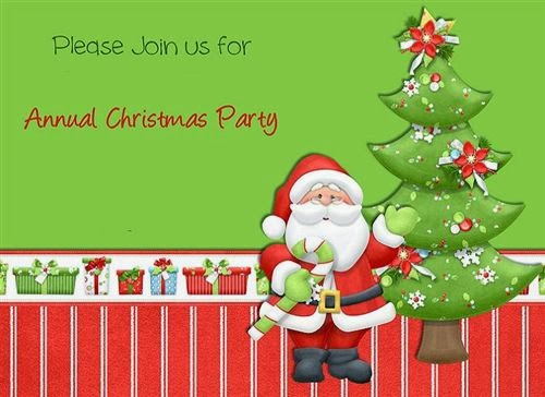 Popular Christmas Invitation Wording For Kids