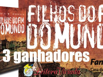 Resultado da Promo#55: 3 exemplares de Filhos do Fim do Mundo, Fábio M. Barreto, Fantasy - Casa da Palavra