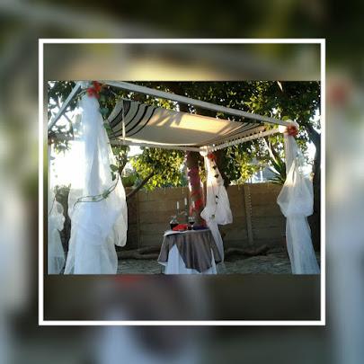 Chuppah for Hebraic Messianic wedding ceremony