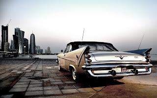 Chrysler Desoto City Old Car Photo HD Wallpaper