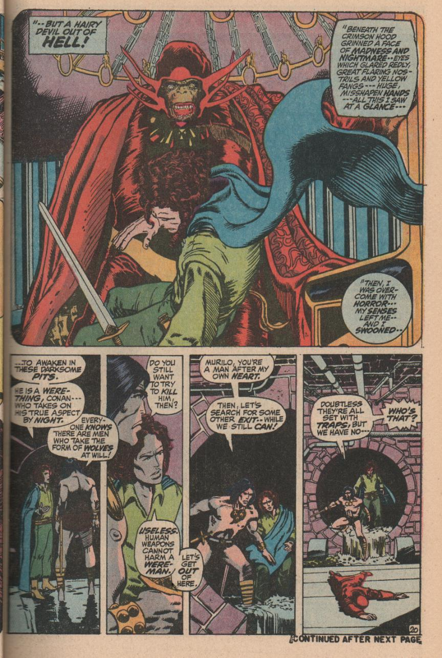 Conan the Barbarian (1970) Issue #11 #23 - English 27