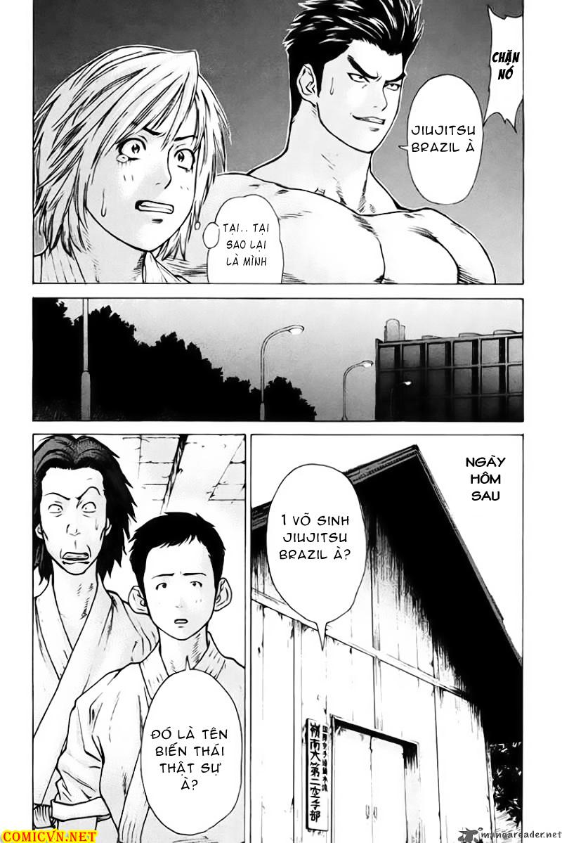 Karate Shoukoushi Kohinata Minoru chap 37 Trang 12