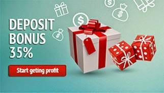 35% депозитный бонус от PaxForex