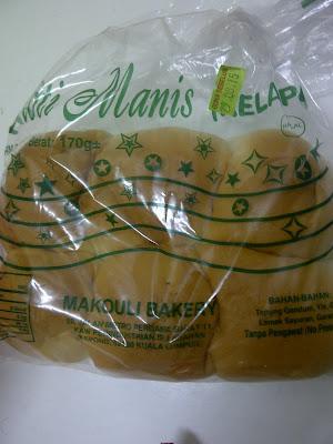 roti manis kelapa