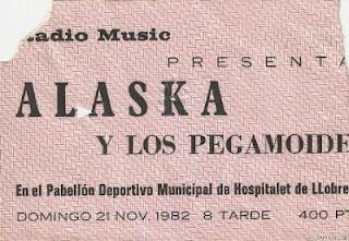 entrada de concierto de alaska