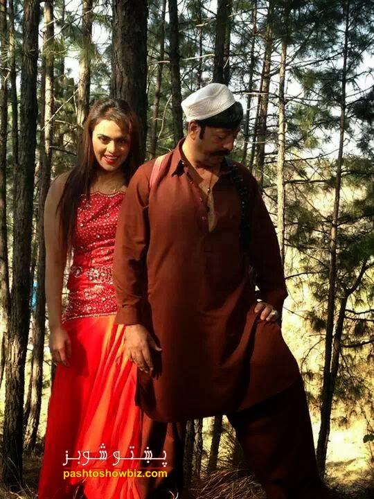 """Sobia Khan & Shahid Khan New Pic in Film """"Azari"""""""