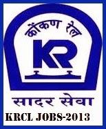 Konkan Railway job 2013