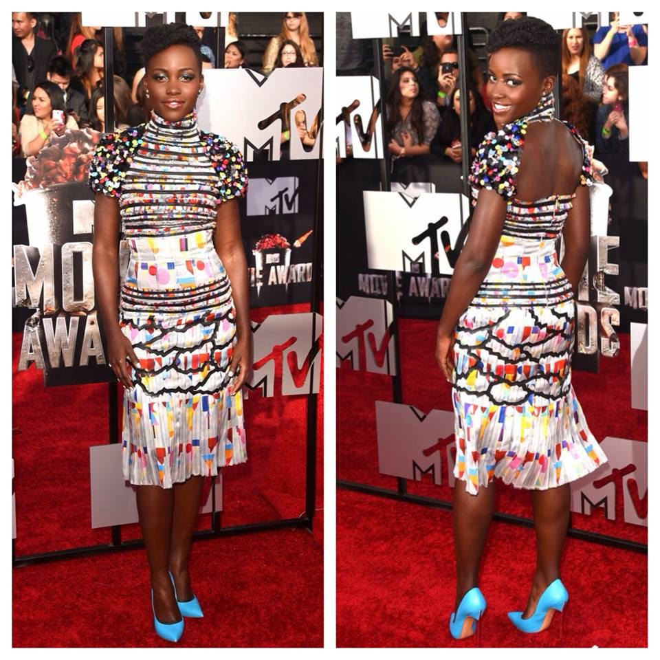 THE LOOK | LUPITA NYONG'O | MTV MOVIE AWARDS 2014