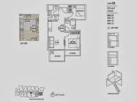 Hills TwoOne 2 Bedrooms Floor Plans